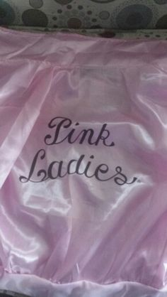 Just got a pink ladies jacket this pin go's out to Didi Conn and Carly Rea Jepson the most awesome frenchy's ever❤❤☺
