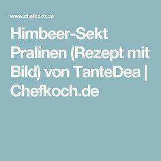 Himbeer-Sekt Pralinen (Rezept mit Bild) von TanteDea   Chefkoch.de