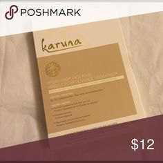 Karuna hydrating face mask 4 masks I know shipping is high which is why I have such a high bundle discount.  I don't trade.  Makeup is always new and never even swatched.  I get a lot of subscription boxes. karuna Makeup