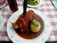 Bavarian food Bavarian Food, Bavarian Recipes, Munich, Food Art, Steak, Roast, Good Food, German, Pork