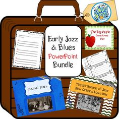 This bundle of PowerPoints will take you and your students through music and music history activities that cover early jazz and blues from the 1910's through the 1920's. It includes all of the individual products listed below: