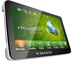 MANTA GPS710MSX Mapa Map Top nawigacja