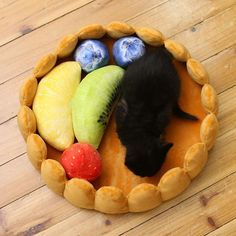 Fruit Tart Pet Bed, cats & dogs. $55.90. Ships worldwide