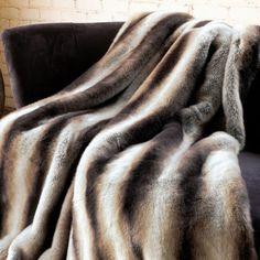 chinchilla-faux-fur-throw-blanket | Indeed Decor