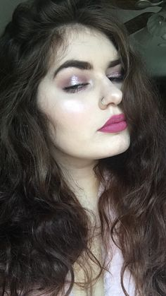 ABH modern renaissance, urban decay naked 3, and stila magnificent metal in ballet baby on the eyes, Jeffree Star doll parts on the lips  Pinterest -shelbyisfab