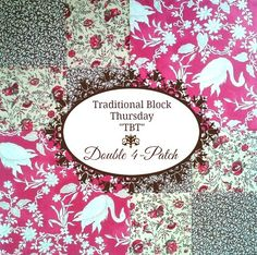 Penny Rose Fabrics Blog: Traditional Block Thursday: Double 4-Patch