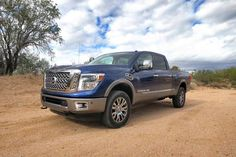 I just CAN'T WAIT for this thing to be in my driveway!!  New Nissan Titan XD.