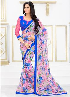 http://www.sareesaga.com/index.php?route=product/product&product_id=19264 Style	:	Casual	 Shipping Time	:	10 to 12 Days Occasion	:	Party Casual	 Fabric	:	Georgette Colour	:	Multi Colour	 Work	:	Print For Inquiry Or Any Query Related To Product,  Contact :- +91 9825192886