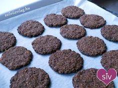Hihetetlenül ropogós, másnap is omlós csokis zabpelyhes keksz! Nemcsak finom, de egészséges is: ez a zabkeksz cukor- és finomlisztmentes! Kóstold meg! Muffin, Paleo, Cukor, Sweets, Snacks, Cookies, Chocolate, Breakfast, Food