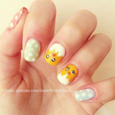 10 decoraciones de uñas para Pascua #yamujer #nailart