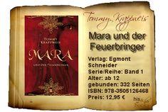 Tommy Krappweis'  Mara und der Feuerbringer bindet die germanische Mythologie auf ganz besondere Weise ein und bringt sie so dem jüngeren Leser nahe. Es entstand eine spannende und zugleich lehrreiche Geschichte.