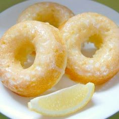 Baked Lemon Donuts Recipe | Key Ingredient