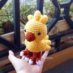 Chocobo [FREE SHIPPING] Crochet Amigurumi Chibi Final Fantasy Fanart Plush https://www.etsy.com/listing/257340631/free-shipping-chibi-chocobo-made-to?ref=listing-shop-header-3