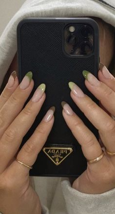 Edgy Nails, Funky Nails, Stylish Nails, Swag Nails, Funky Nail Art, Bling Nails, Simple Acrylic Nails, Best Acrylic Nails, Acrylic Nails Green
