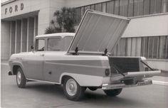 OG | 1958 Ford do Brasil F-100 Mk3 | Two-door Sedan prototype, photographied at the Ipiranga Plant