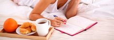 Escribiendo menu semanal para adelgazar