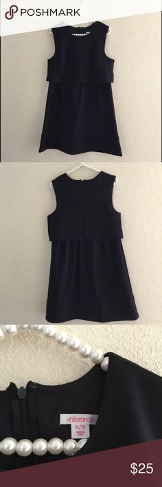 Dress Cute sleeveless black dress with tag on . Xhilaration Dresses