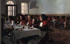 Angelo Morbelli (1854-1919)dipingeva spesso gli anziani ospiti del Pio Albergo Trivulzio di Milano in tele intrise di storie4.jpg (1200×756)