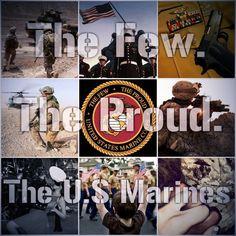 The Few. The Proud. The Marines #usmc
