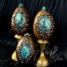 images attach d 0 129 384 Egg Crafts, Easter Crafts, Diy And Crafts, Egg Shell Art, Carved Eggs, Easter Egg Designs, Dragon Egg, Faberge Eggs, Egg Art