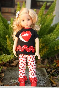 """""""Box of Chocolates"""" outfit for Effner 13, Little Darling, Dianna Effner in Dolls & Bears, Dolls, Clothes & Accessories 