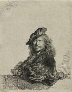 """""""Rembrandt"""". Auto-Retrato. (1639)."""