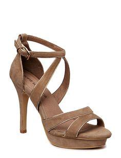 Sofie Schnoor High suede sandal