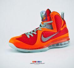 super cute 17bc6 41b38 Lebron 9 Allstar Galaxy Nike Heels, Nike Boots, Lebron 9, Nike Runners,