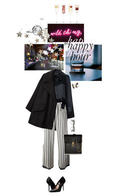"""""""happy hour"""" by quinnella ❤ liked on Polyvore featuring KEEP ME, Simone Rocha, Yves Saint Laurent, Jean-Paul Gaultier, Burberry, Oscar de la Renta, ZeroUV, F and LSA International"""