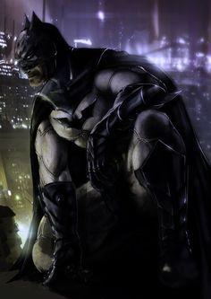 The Dark Knight by ~slaine69