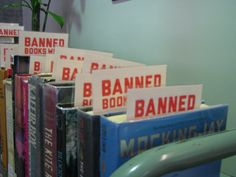 To read all the books that've been banned over the years......................... [ ] done [x] will do