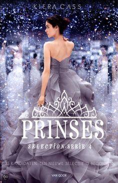 De PRINSES ♥  - Kiera Cass,                           Deel 4 Selectie-serie
