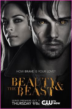 CWs Beauty And The Beast TV Show Poster #Home