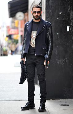 The epitome of cool. #menswear #streetstyle #streetfashion