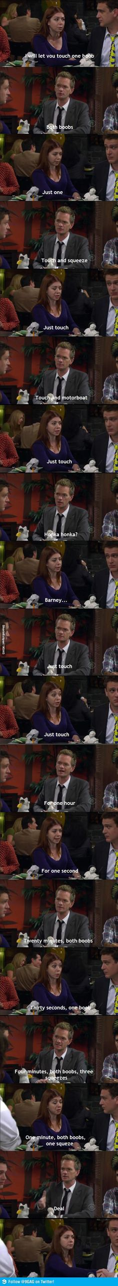 How to bargain, HIMYM tutorial