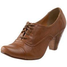 Amazon.com: Steve Madden Women's Harah Lace-Up Oxford,Cognac Leather,9.5 M US: Shoes