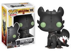 I WANT THIS! I just looooove Toothless. If I could have a dragon... Damn.. Pop! Movies: How to Train Your Dragon - Toothless | Funko
