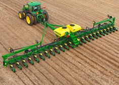 Pin 12. Get to know John Deere- John Deere organizes its operations into three core categories: Agriculture, Construction & Forestry, and John Deere Credit. Image above shows John Deere 9670 Bullet Rotor & 215hp 8320 tractor