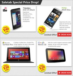 PRICE DROP! PRICE DROP! Visit www.saletab.com ..... now!