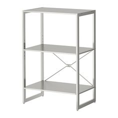 JD-storage $99 25x13x35h LIMHAMN Shelving unit IKEA Shelf in stainless steel; hygienic, strong and durable surface that is easy to clean.