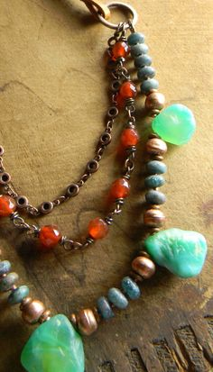 Hey, I found this really awesome Etsy listing at https://www.etsy.com/listing/215618027/boho-southwestern-jewelry-green-agate