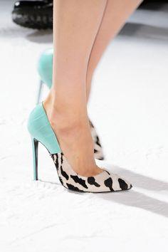 #FaustoPuglisi #CollezioniAccessorin82 #SS16 #FocusOn #BlueSky #shoes #stiletto #style #doublepattern