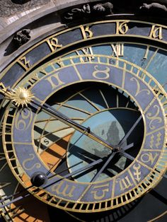 Prague Astronomy Clock (Photo by Alfvan Beem) International Clock, Prague Astronomical Clock, Steampunk, Somewhere In Time, Old Town Square, Adventure Photos, Star Chart, Time Clock, Interstellar