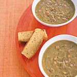 Slow-Cooker Recipe: Smoky Pea Soup Recipe   MyRecipes.com (I would use smoked turkey legs)