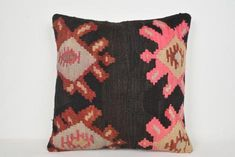 Knit Pillow, Pillow Shams, Pillow Covers, Aztec Pillows, Kilim Pillows, Throw Pillows, Oversized Floor Pillows, Moroccan Floor Cushions, Kilim Fabric