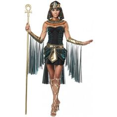 Amazon.com: California Costumes Womens Egyptian Goddess Adult Costume: Clothing