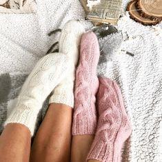 White knitted socks for women Knee high White angora leg warmers Over knee socks Boot socks Personalized sock Valentine day gift Chunky knit – Knitting Socks Fluffy Socks, Cozy Socks, Knitting Socks, Hand Knitting, Beginner Knitting, Thigh Socks, Cozy Aesthetic, Cozy Fashion, Socks