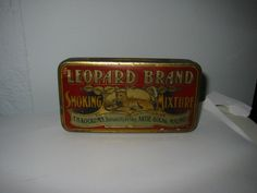 Leopard Brand Smoking Mixture F.H. Kockums Tobaksfabrik Malmö