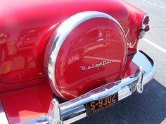 1953 CHEVY BELAIR with continental kit