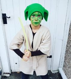 Make your own Yoda Costume for World Book Day and A Star Wars Books Giveaway